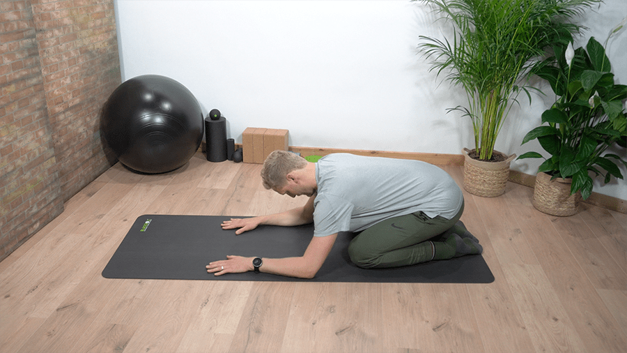 buikademhaling - lage rugpijn oefening - beweegzorg online